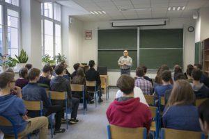 Wykład prof. Włodzimierza Natorfa